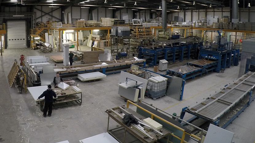 The Kilkenny Cooling Systems factory floor