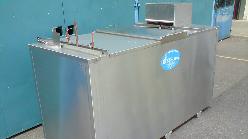 Kilkenny Cooling Systems ice builder ready for shipment