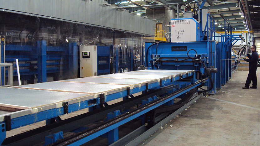 OEM insulated panel production