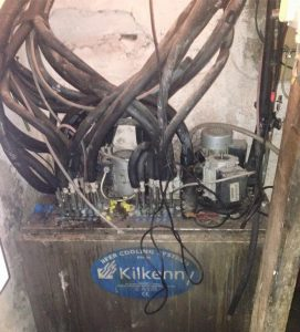 A 20 year old installation of a Kilkenny Cooling Systems beer cooler