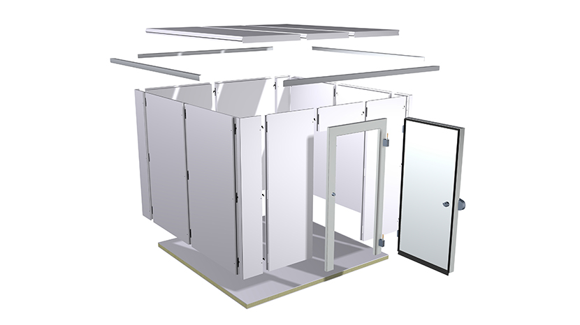 Kilkenny Cooling Systems coldrooms are designed to order