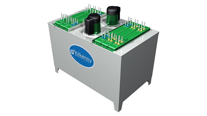 VFD energy efficient beer cooling system