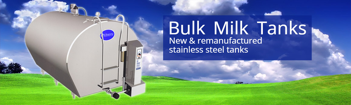 Kilkenny Cooling Systems new and remanufactured stainless steel bulk milk tanks