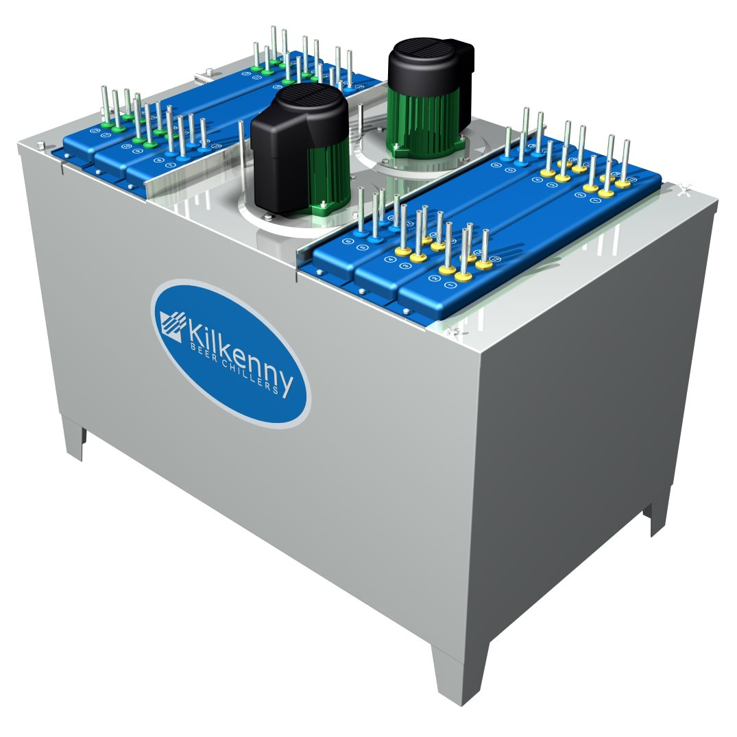 Kilkenny Cooling Systems VS Beer Cooler (blue and green rendering)