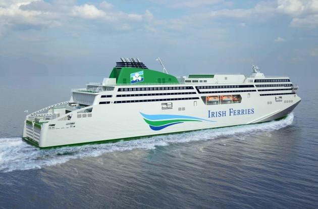 Irish Ferries 114m New Flagship Gets Kilkenny Beer